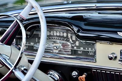 Photograph - Cadillac Dash by Dean Ferreira
