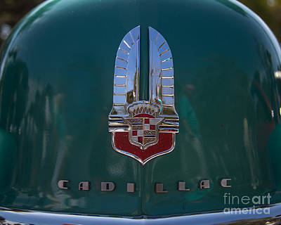 Wheels Photograph - Antique Cadillac  by J Darrell Hutto
