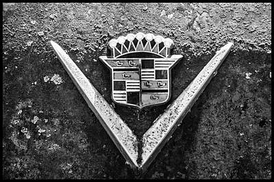 Photograph - Cadillac Emblem by Matthew Pace