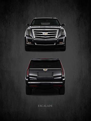 Cadillac Photograph - Cadillac Escalade by Mark Rogan
