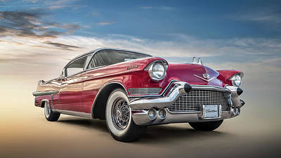 Chrome Wall Art - Digital Art - Cadillac Jack by Douglas Pittman