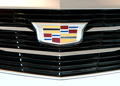 Cadillac Photograph - Cadillac Luxury by Rospotte Photography