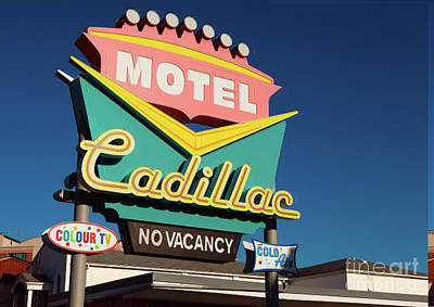 Photograph - Cadillac Motel by Igor Kislev