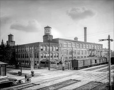 Photograph - Cadillac Motor Car Company 1905 by LeeAnn McLaneGoetz McLaneGoetzStudioLLCcom