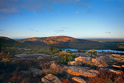 Linda King Photograph - Cadillac Mountain 3805 by Linda King