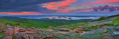 Photograph - Cadillac Mountain  by Emmanuel Panagiotakis