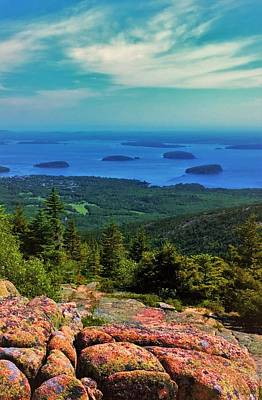 Photograph - Cadillac Mountain by Lisa Dunn