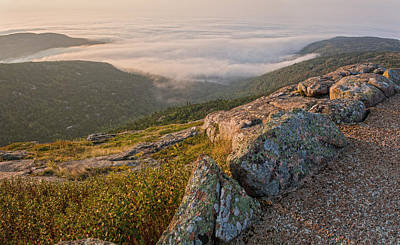 Photograph - Cadillac Mountain Morning Panorama by Angelo Marcialis