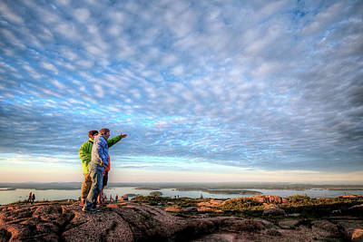 Photograph - Cadillac Mountain by Patrick Groleau