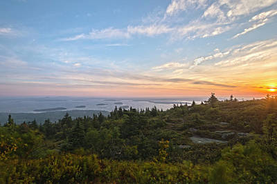 Photograph - Cadillac Mountain Sunrise by Angelo Marcialis