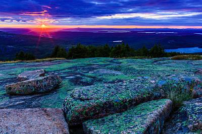 Photograph - Cadillac Mountain Sunset by Ben Graham