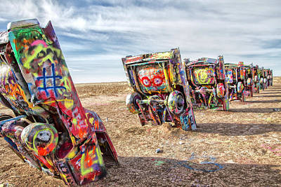 Photograph - Cadillac Ranch 1 by Newman Artography