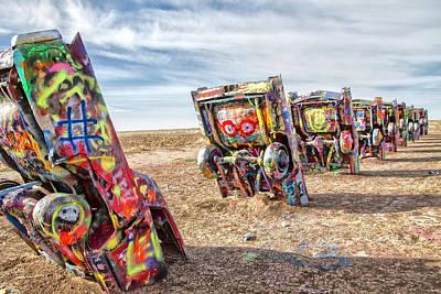 Photograph - Cadillac Ranch 1 by Newman Artography