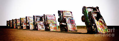 Installation Art Photograph - Cadillac Ranch 3 by Bob Christopher