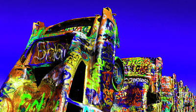 Photograph - Cadillac Ranch 5 by Bob Christopher