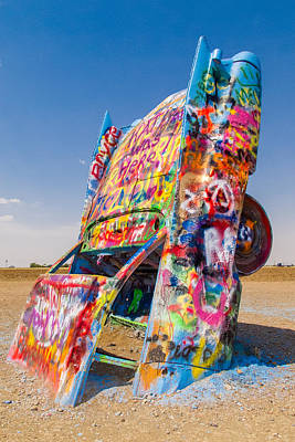 Photograph - Cadillac Ranch Caddy by SR Green