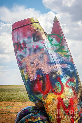 Wild And Wacky Portraits - Cadillac Ranch by Peter Stawicki