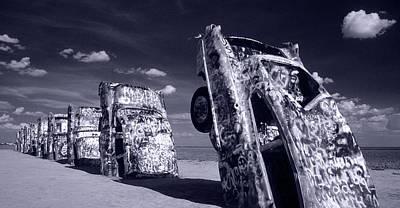 Cadillac Ranch Photograph - Cadillac Ranch by Steve Williams