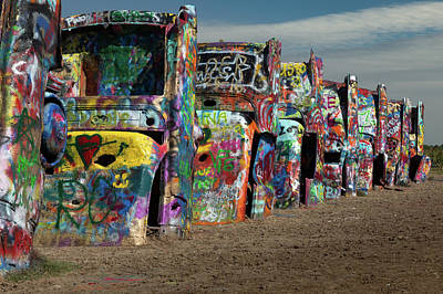 Photograph - Cadillac Ranch by Tim Stanley