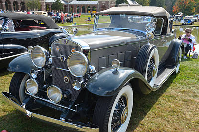 Photograph - Cadillac Roadster by John Schneider