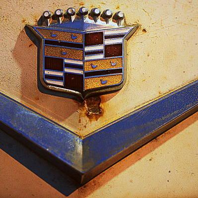 Photograph - Cadillac Sedan Deville Emblem by Joseph Skompski