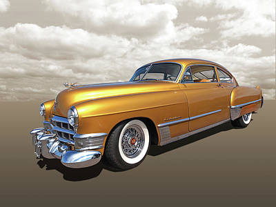 Photograph - Cadillac Sedanette 1949 by Gill Billington