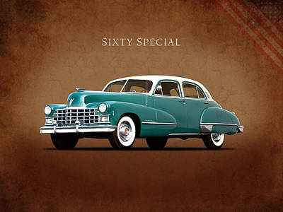 Sixty Photograph - Cadillac Sixty Special 1949 by Mark Rogan