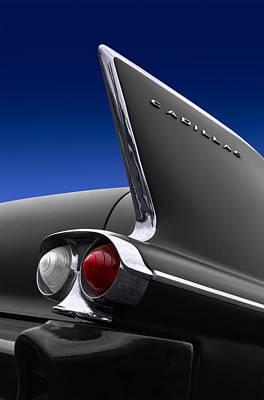 Cadillac Photograph - Cadillac Tail Fin by Patrick Chuprina