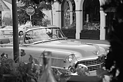 Photograph - Cadillac Through The Window by Steve Natale