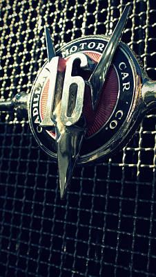 Photograph - Cadillac V16 by Joseph Skompski