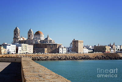 Photograph - Cadiz Cathedral Andalusia by Lynn Bolt
