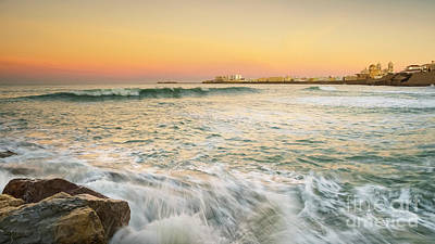 Photograph - Cadiz Skyline From Santa Maria Beach Cadiz Spain by Pablo Avanzini