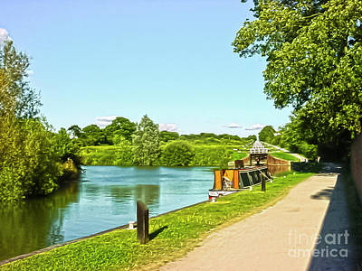 Photograph - Caen Hill Locks by Terri Waters