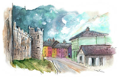 Painting - Caernarfon 02 by Miki De Goodaboom
