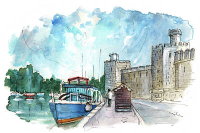 Painting - Caernarfon 03 by Miki De Goodaboom