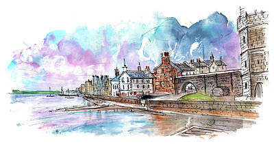 Painting - Caernarfon 07 by Miki De Goodaboom