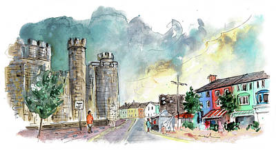 Painting - Caernarfon 12 by Miki De Goodaboom