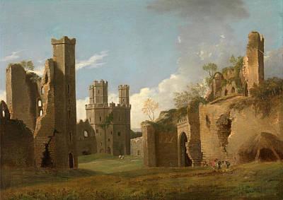 Painting - Caernarvon Castle by Joseph Farington