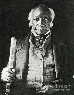 Caesar, Last Slave In New York Art Print by Photo Researchers