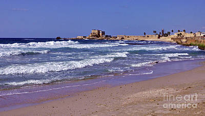 Photograph - Caesarea No. 2 by Lydia Holly