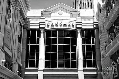 Photograph - Caesars Casino Of Atlantic City by John Rizzuto