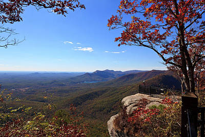 Photograph - Caesars Head In South Carolina by Jill Lang