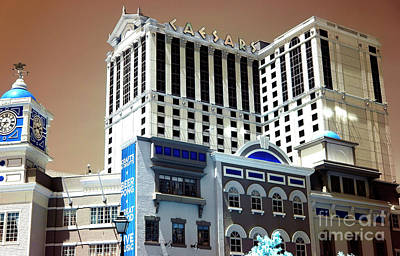 Photograph - Caesars Infrared by John Rizzuto