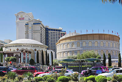 Photograph - Caesars Palace, Las Vegas by Tatiana Travelways
