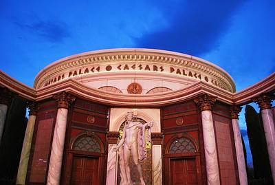 Photograph - Caesar's Palace Statue by Matt Harang
