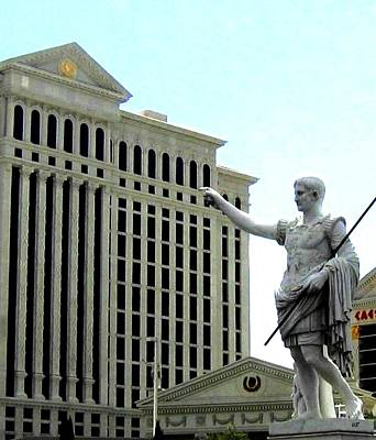Caesars Palace Photograph - Caesars Palace by Will Borden