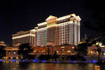 Photograph - Caesars Palace by Willie Harper