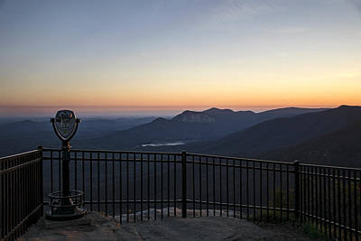 Caesars Head State Park Photograph - Caesar's Place by Kevin Ruck