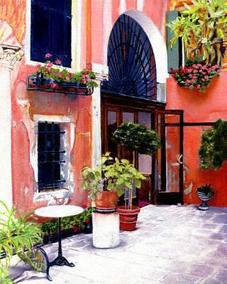 Venice Ca Painting - Ca'favretto by Maureen Piccirillo