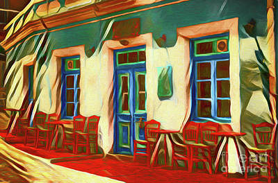 Photograph - Cafe 20218 by Ray Shrewsberry